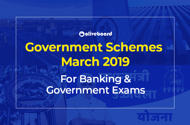Government Schemes March 2019