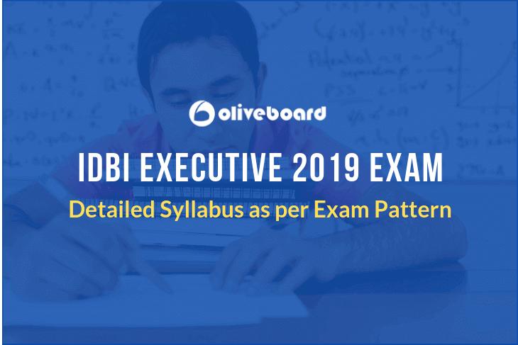 IDBI Executive Syllabus
