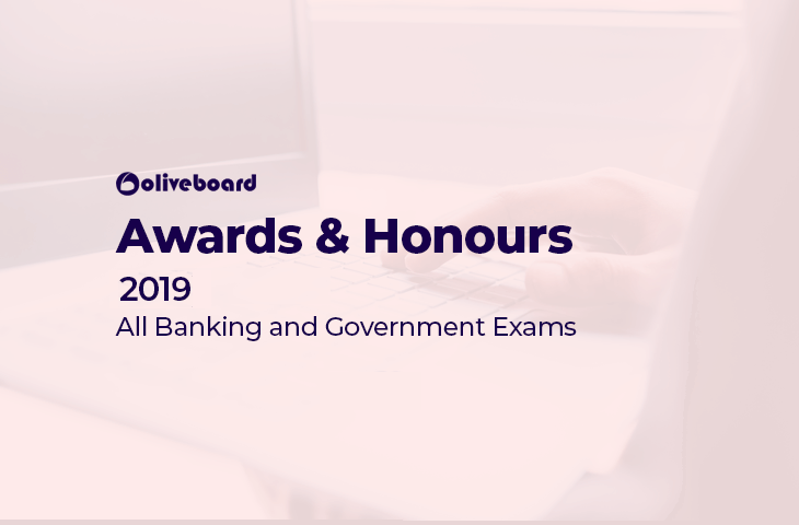 Awards and Honours 2019