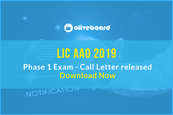 LIC AAO Call Letter 2019