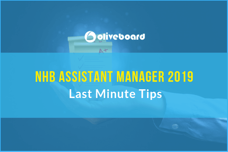 NHB Assistant Manager Exam 2019 last minute tips