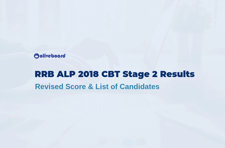 RRB ALP 2018 CBT Stage 2 Results