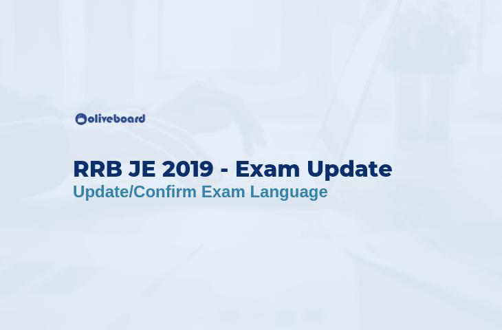 RRB JE Exam Language 11