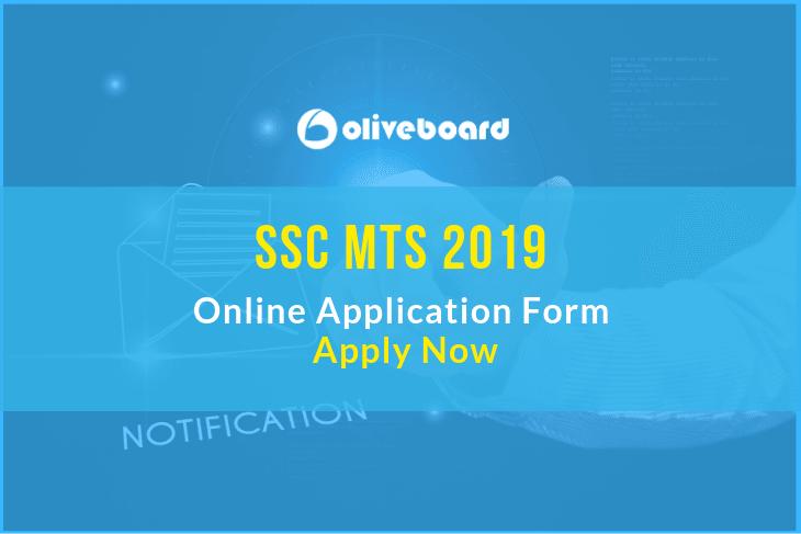 SSC MTS Online Application