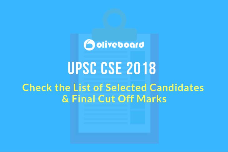 UPSC CSE Final Result