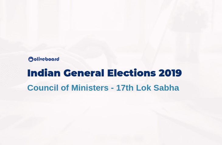 Indian General Elections 2019 - Council of Ministers