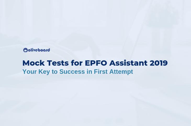 EPFO Assistant Mock Tests