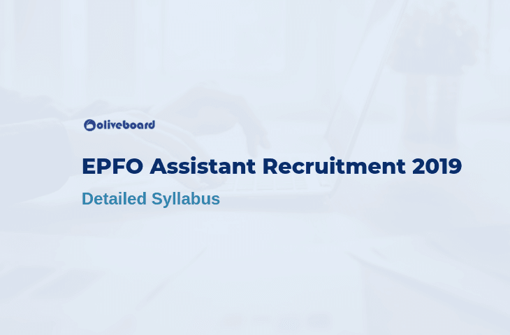 EPFO Assistant Syllabus