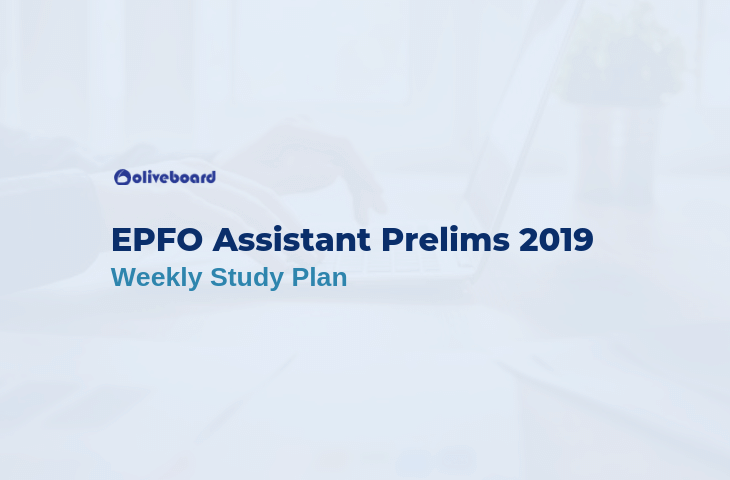 EPFO Assistant study plan