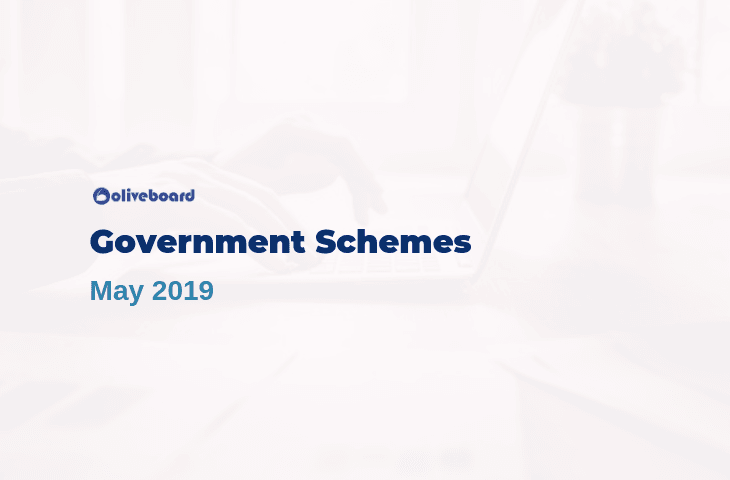 Government Schemes May 2019