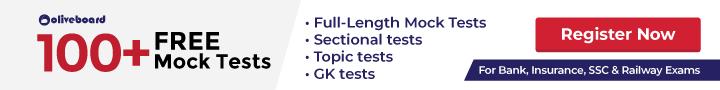 Free mock tests banner