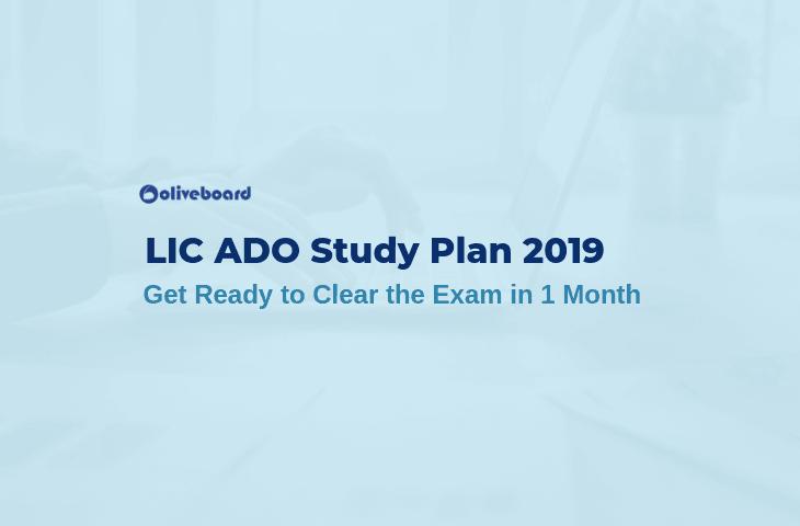 LIC ADO Study Plan