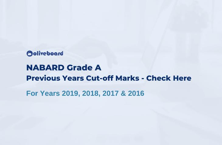 NABARD Grade A Cut Off