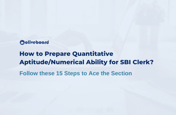 How To Prepare For Quantitative Aptitude for SBI Clerk?