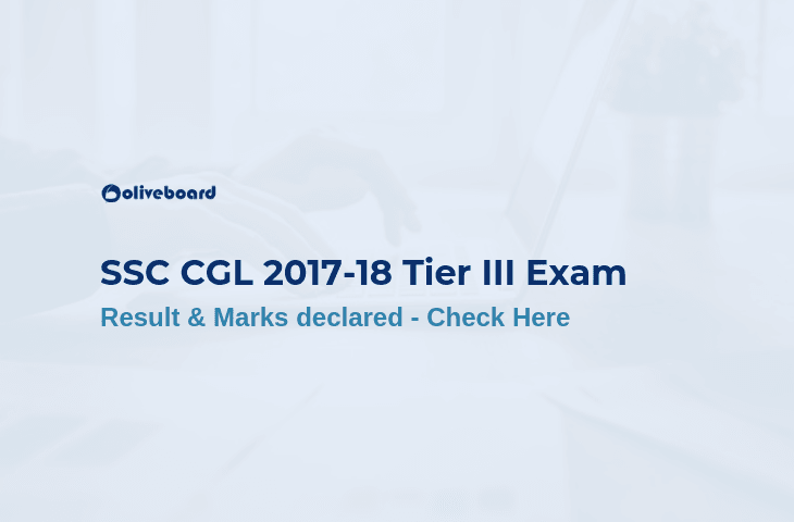 SSC CGL 2017 Result and Marks