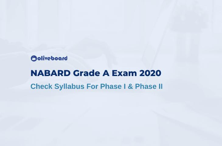 NABARD Grade A Syllabus