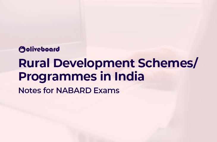 rural development schemes in India