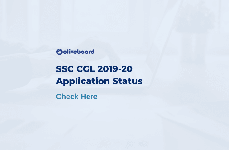 SSC CGL Application Status