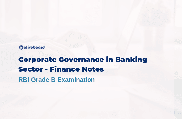 Corporate Governance in Banking Sector - RBI Grade B Study Notes