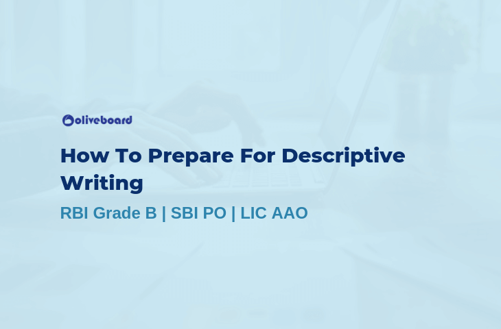 How To Prepare For Descriptive Writing
