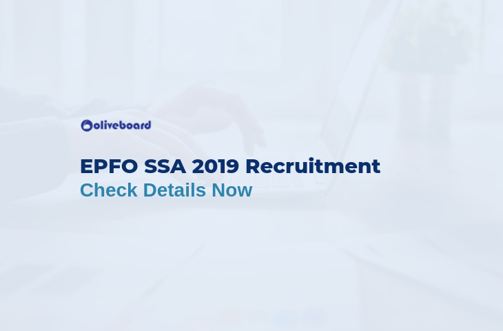 EPFO SSA 2019 Recruitment
