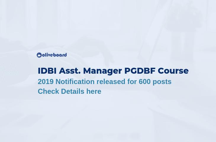 IDBI Assistant Manager Recruitment 2019
