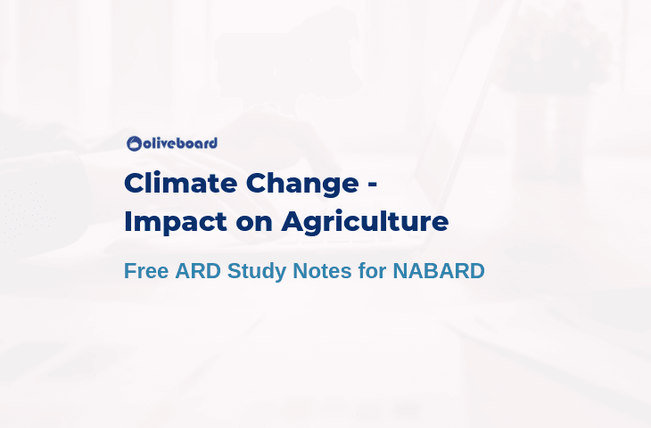Impact of Climate Change on Agriculture