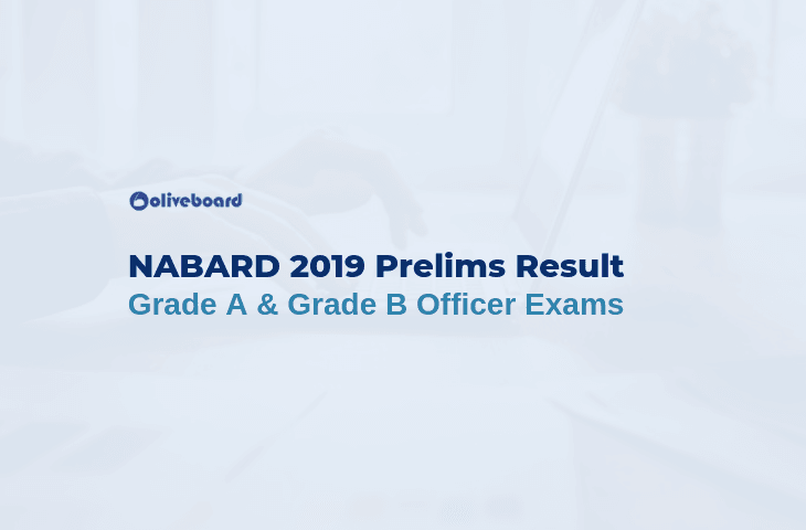NABARD 2019 Prelims Result