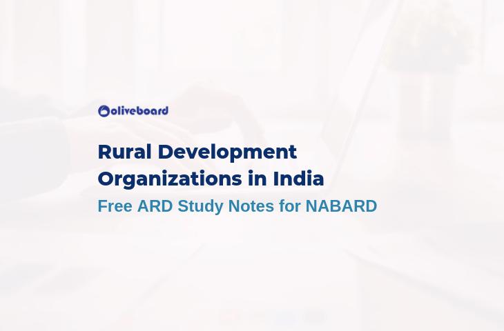 Rural Development Organizations in India