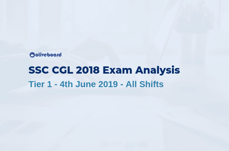 SSC CGL 2018 Tier 1 Exam Analysis - 4 June 2019