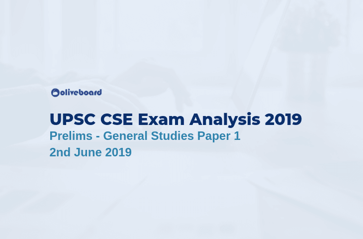 UPSC CSE Exam Analysis 2019