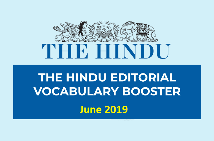 Vocabulary Booster June 2019
