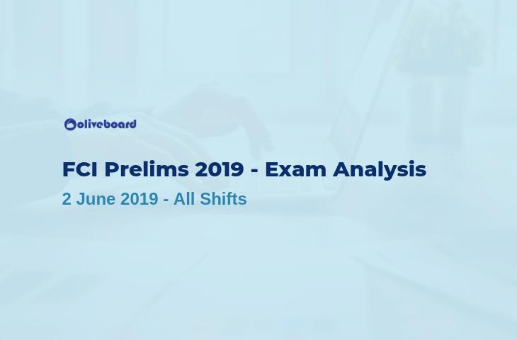 fci exam analysis 2019