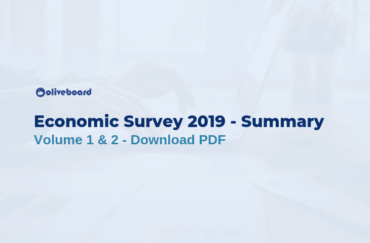 Economic Survey 2019 Summary 1
