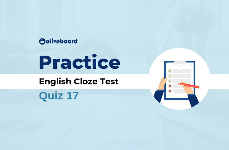 English Cloze Test 17