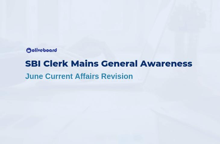 SBI Clerk Mains General Awareness