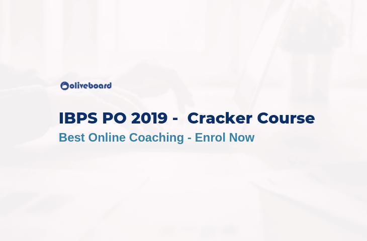 IBPS PO Online Coaching cracker