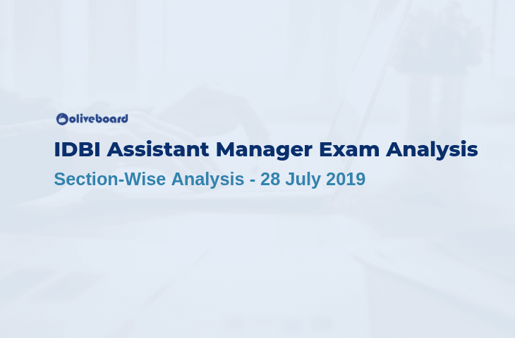 IDBI Exam Analysis 2019