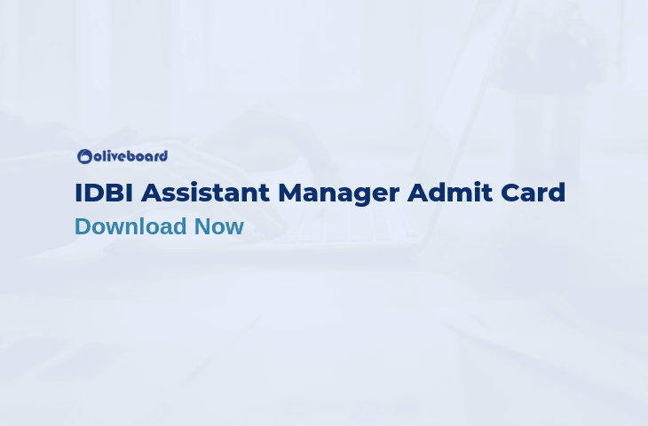 IDBI Assistant Manager Admit Card