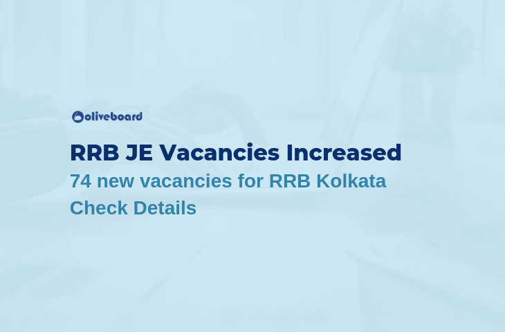 RRB JE 2019 Vacancy increased