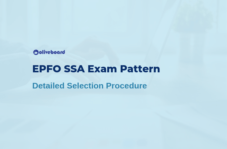 epfo ssa exam pattern 2019