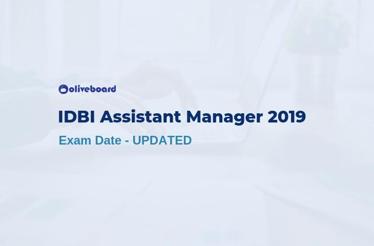 idbi exam date 2019