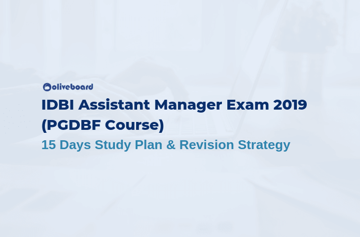 IDBI Assistant Manager Study Plan