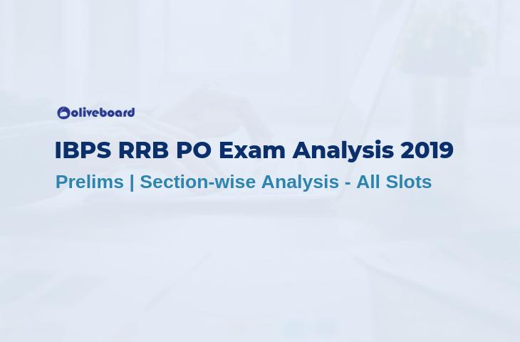 IBPS RRB PO Exam Analysis 2019