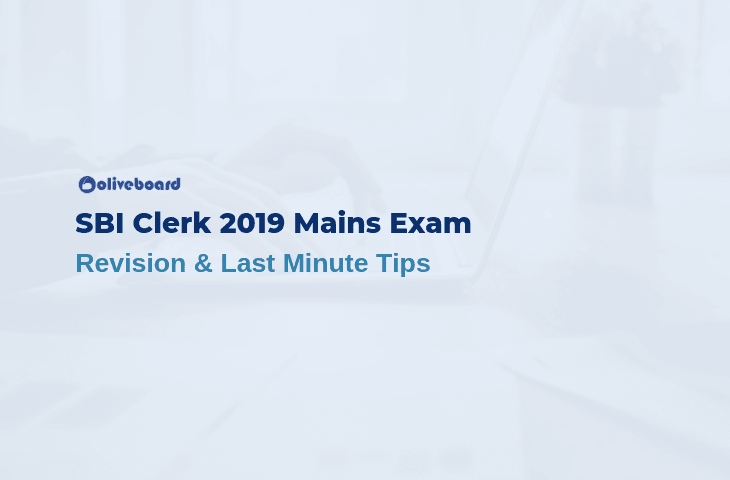 SBI Clerk Mains Revision