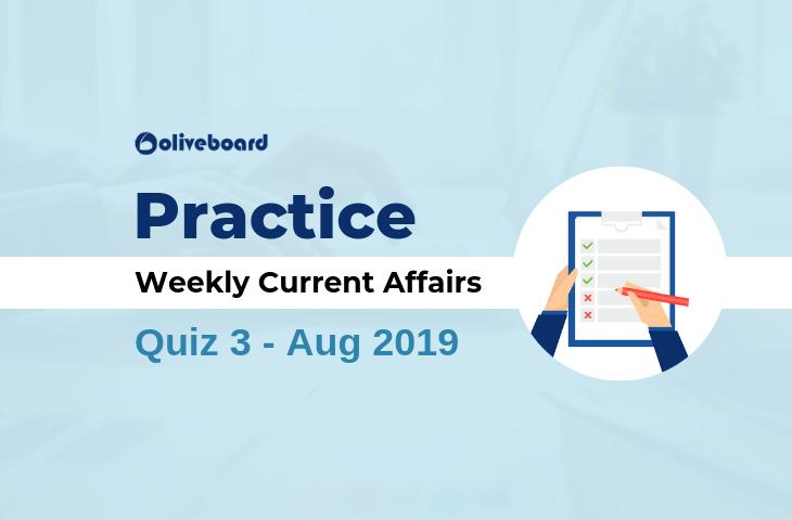 Current Affairs Quiz 3