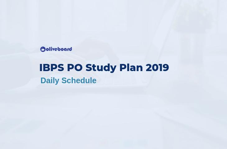 ibps po study plan 2019