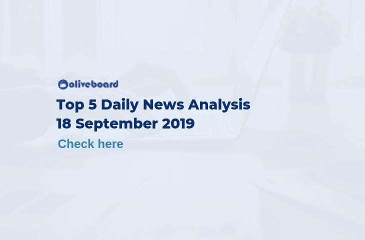 top 5 daily news- 18 Sep 2019