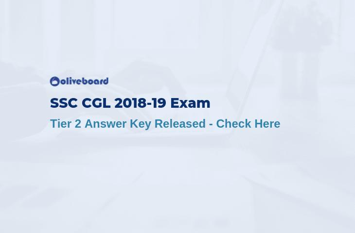 SSC CGL Tier 2 Answer Key 2018