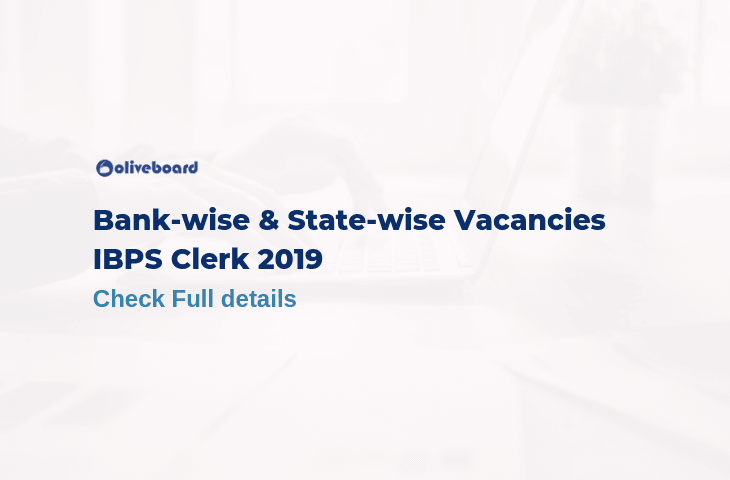 IBPS Clerk 2019 Vacancies